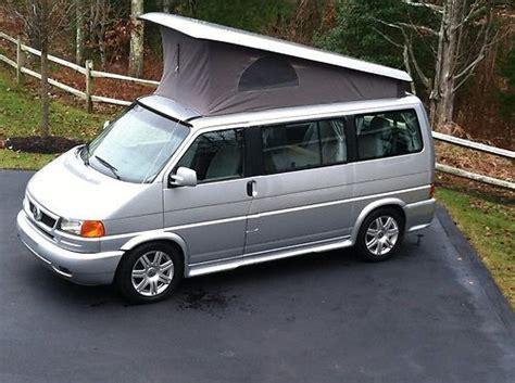 find used 2003 vw eurovan weekender westfalia pop top