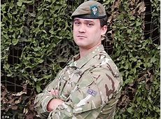 Rupert Bowers British soldier killed in Afghanistan