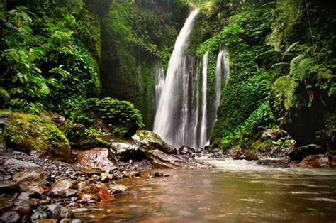 sendang gile  tiu kelep lombok waterfall lombok