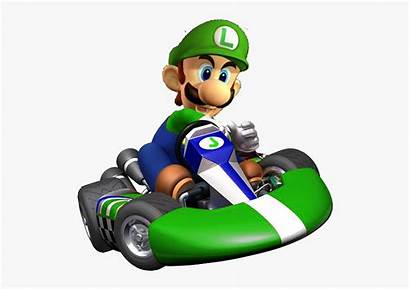 Mario Kart Luigi Characters Clipart Transparent Clipartkey