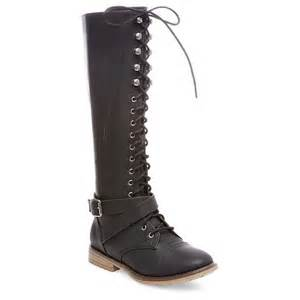 target womens boots mossimo 39 s magda lace up with zip boots mossimo supply co target