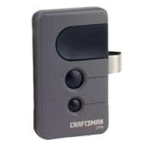 liftmaster garage door remote sears craftsman 139 53753 315 mhz 3 button gate or garage