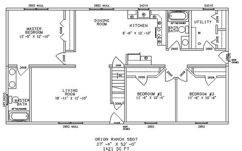 open floor plan ranch style homes and affordable living made possible by ranch floor plans interior design inspiration