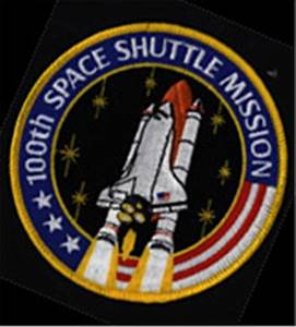 NASA 100th Space Shuttle Mission Commemorative Patch
