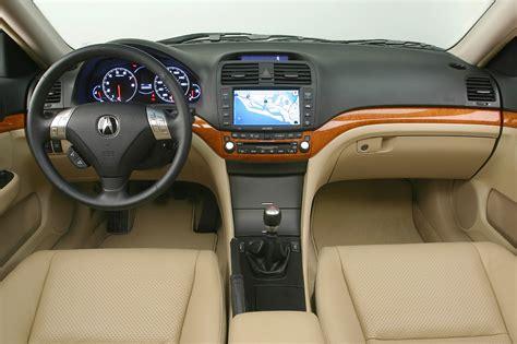 2008 Acura Tsx Interior by 2004 08 Acura Tsx Consumer Guide Auto