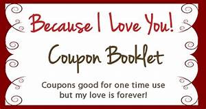 Create your own valentines coupon booklet for free for Create a coupon template free
