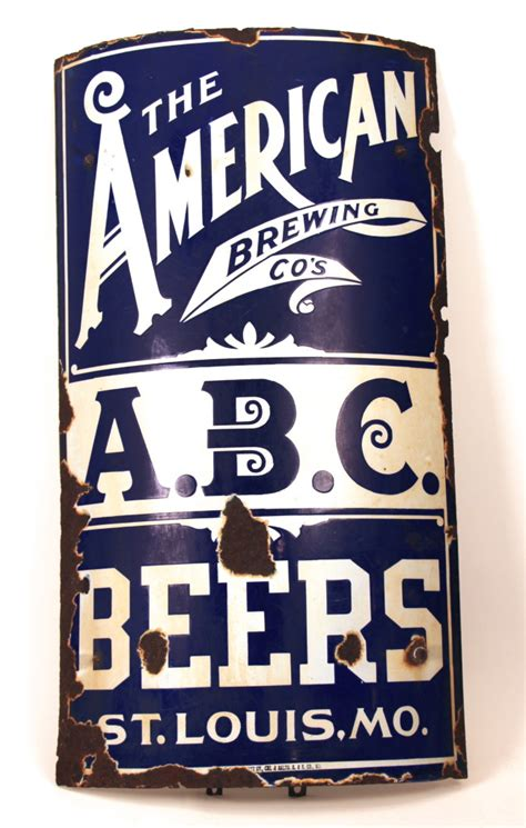 antique advertising expert american brewing company