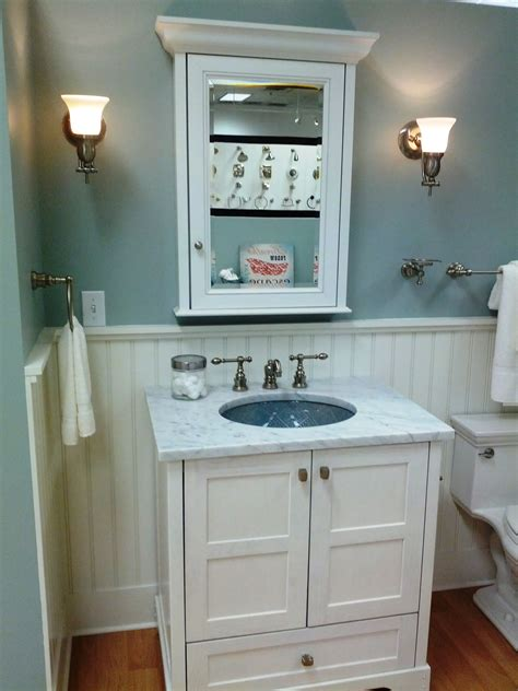 Bathroom With Wainscoting Ideas by Modern And Simple Small Bathroom Ideas You Can Try At Home