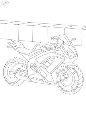 ausmalbilder auto und motorrad kostenlose malvorlagen