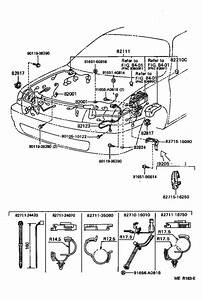 Toyota Tercel Fusible Link  Clamp  Electrical  Wiring