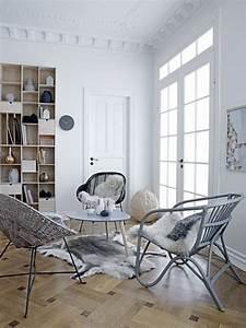 deco scandinave ethnique industrielle et vintage petite With deco cuisine avec fauteuil cuisine design