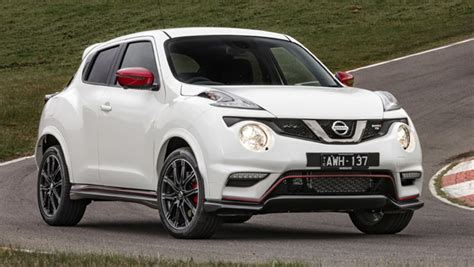 nissan juke nismo rs  pricing  specs confirmed