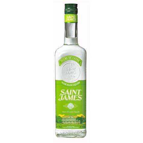 st james liquid sugar syrup 700ml spirits of france