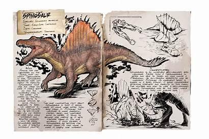 Ark Spino Survival Evolved Spinosaurus Dossier Spinosaur