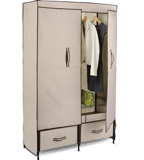 Wardrobe Closet For Hanging Clothes by Wonderful Portable Wardrobe Clothes Storage Wheels Bins