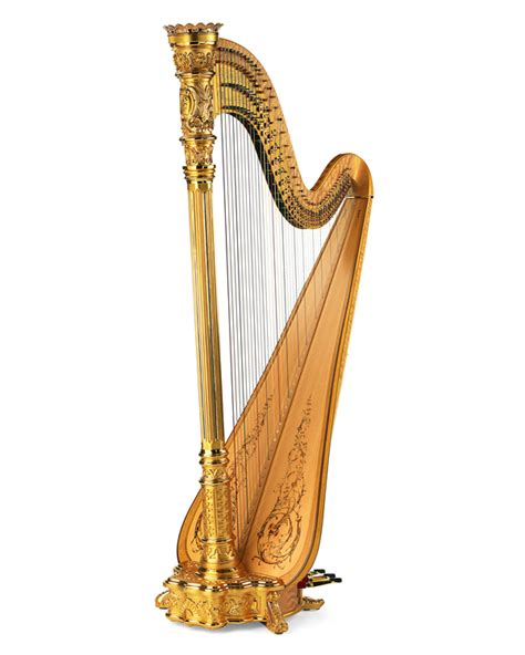 what is a l harp style 23 gold concert grand pedal harp