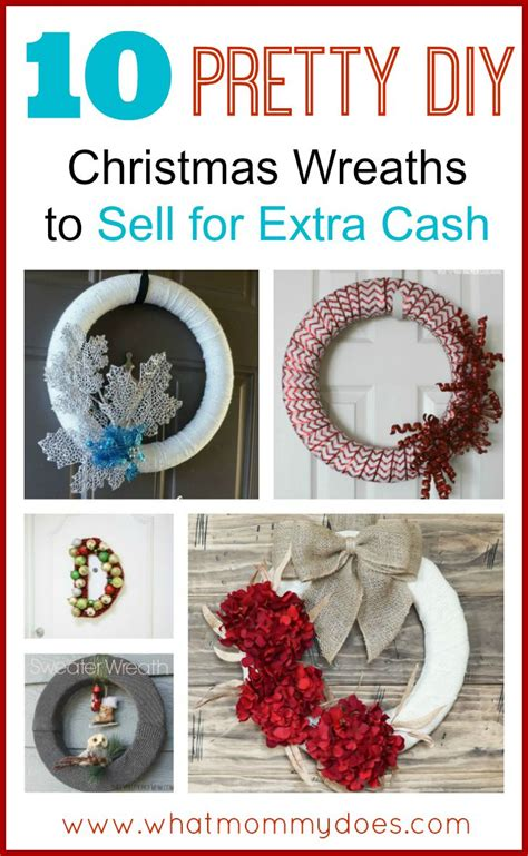 christmas wreaths to make and sell for the holidays what