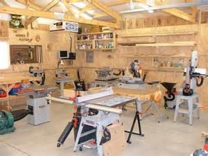 Garage Woodworking Workshop Layout
