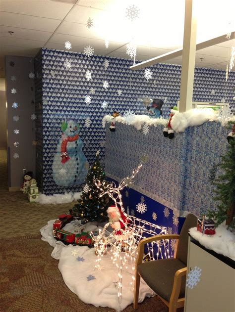 images  cubicle christmas office decorating