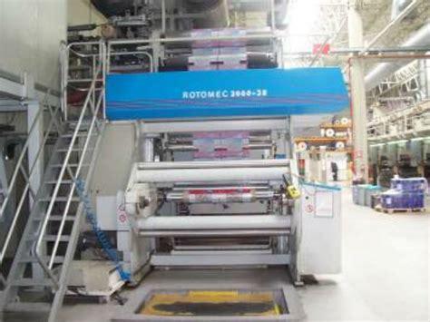 rotomec rotogravure printing press   sale galred