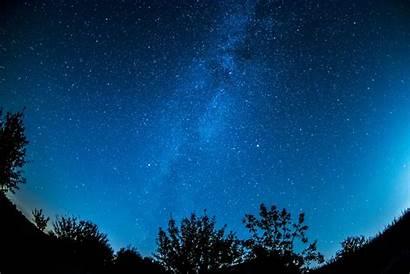 Sky Night Stars Dark Moon 1920 Resolution
