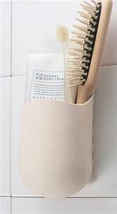 Porte Brosse à Dent Ventouse : la poche kangourou ventouses porte savon porte brosse ~ Dailycaller-alerts.com Idées de Décoration