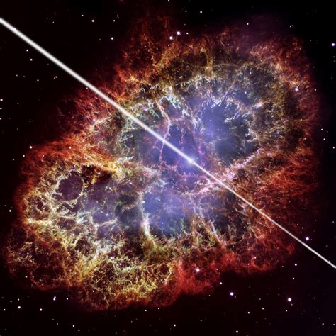 'jawdropping!' Crab Nebula's Powerful Beams Shock