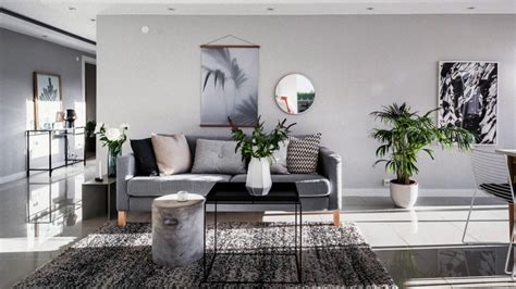 beautiful scandinavian style home interior