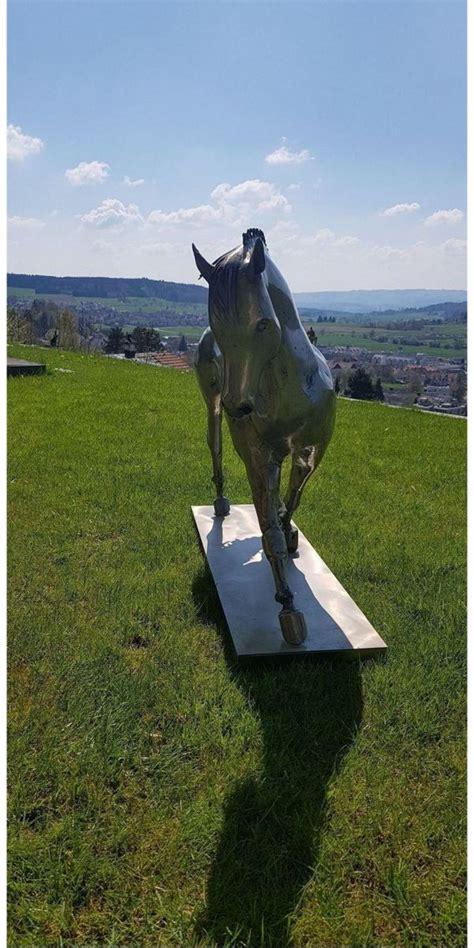 Garten Kaufen Uhingen pferdeskulptur in uhingen kunst gem 228 lde plastik kaufen