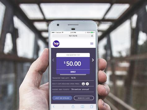 Buy at hop card  buy at hop card online; Hop Card Web App by The Brigade - Dribbble