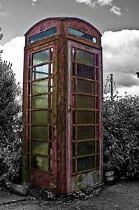 Old Telephone Booth Free Stock Photo