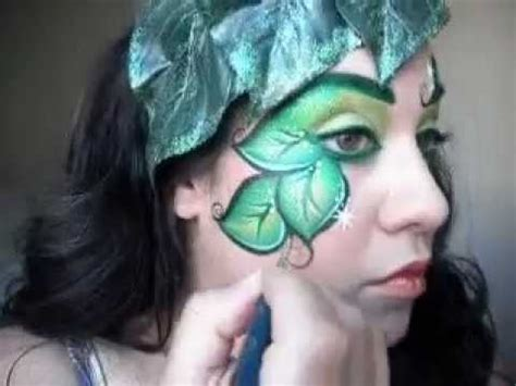 poison ivy makeup face painting tutorial youtube