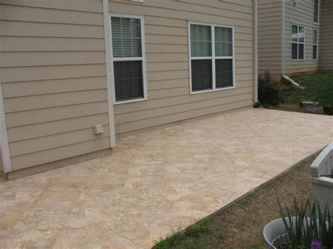 tiled patio floor from jackpot construction in covington