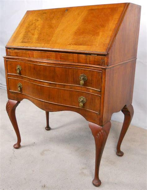 queen anne writing desk antique queen anne style walnut writing bureau desk sold