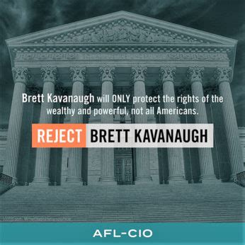 AFL-CIO president: 'Workers are united to defeat Kavanaugh