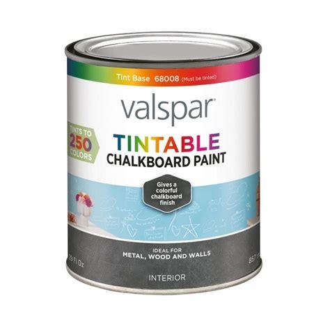 shop valspar valspar interior flat chalkboard tintable white latex base paint actual net