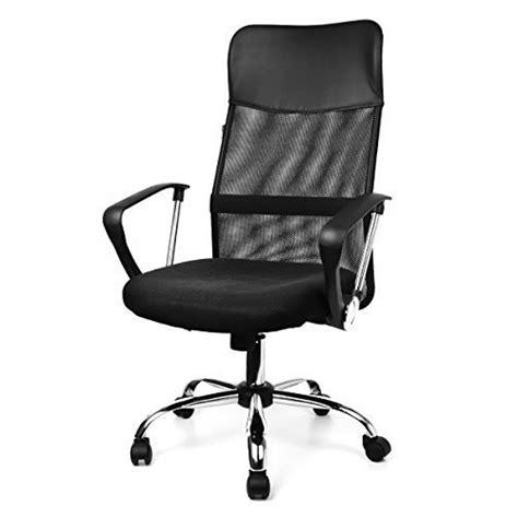 fauteuil de bureau air plus chaise noir siège pivotant tissu