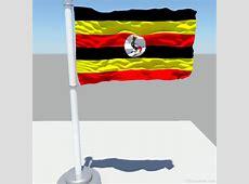 National Flag Of Uganda 123Countriescom