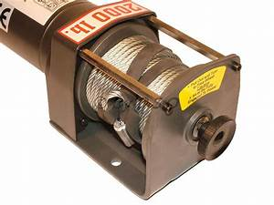 6000lbs 12v Reversible Winch New