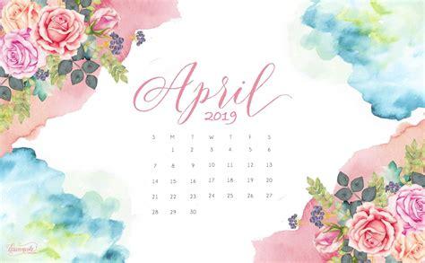 April 2019 Wallpaper Calendar