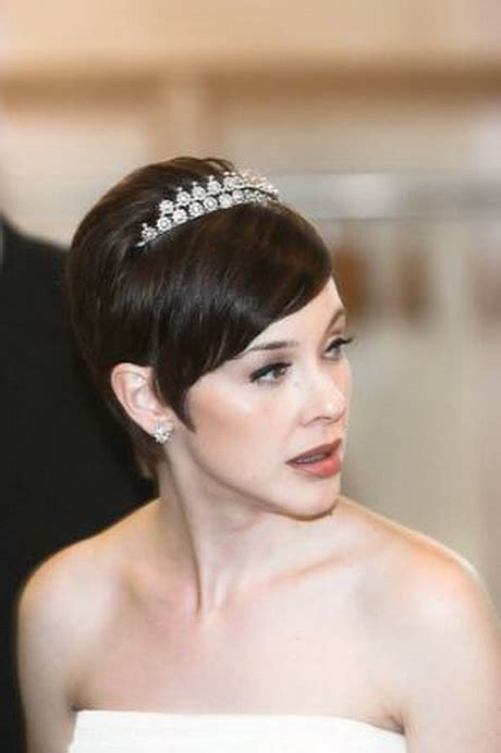 bride hairstyles  short hair