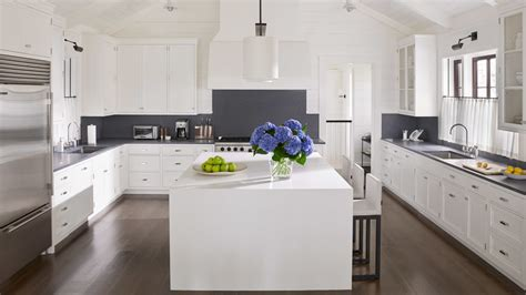 Decorating Ideas For A And White Kitchen by White Kitchen Design Ideas Hagan Spaces