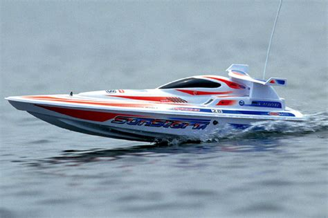 Rc Boats At Academy by Kyosho 40021 Electric Powered Racing Boat Sunstorm 600