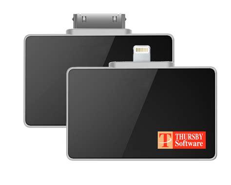 ipad iphone pkard reader bundles thursby software
