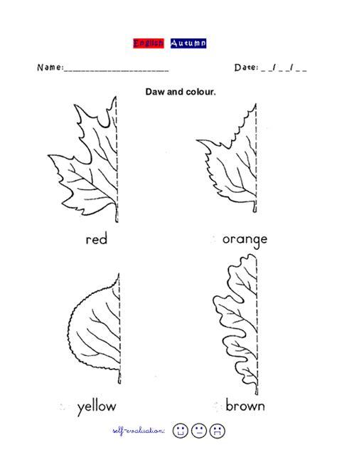 Autumn Worksheet Abcgo