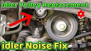 Lexus Rx350 Idler Pulley How To Replace 2007