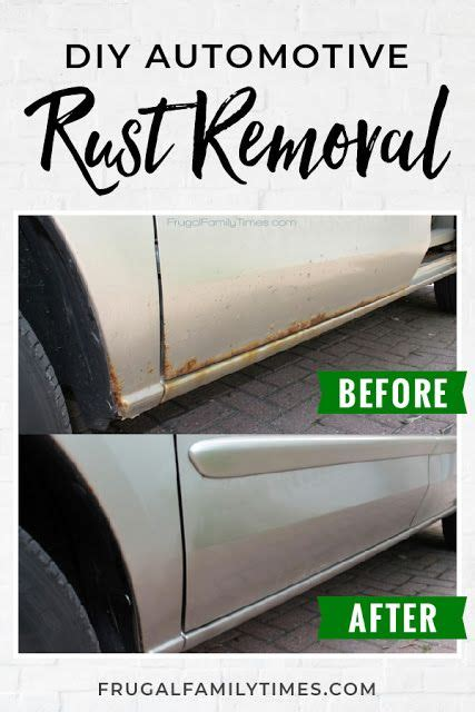 rust repair rid frugalfamilytimes frugal times tutorial fix better vehicle truck