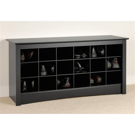 shoe cubby bench sonoma shoe bench in black shop entryway furniture modgsi