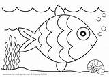 Fish Rainbow Paper Craft Collage Coloring Pages Artsy Template Preschool Printable Summer Colouring Activities Kindergarten Crepe Printables Easy Fishing Balık sketch template