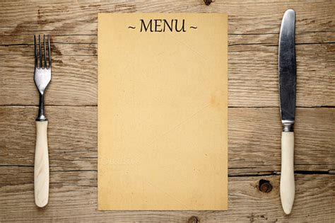 blank menu 21 blank menus sle templates